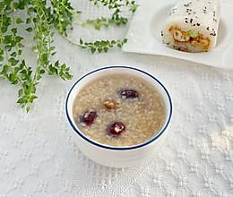 美容养颜糯米桂圆红枣粥的做法
