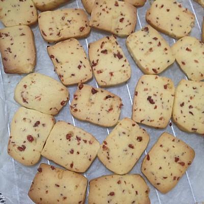 简单易学的黄油曲奇饼干,顺带蔓越莓曲奇
