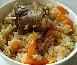 新疆美食——羊肉抓饭的做法