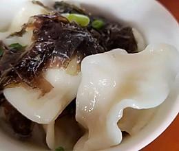 月子餐|安神去躁的西芹萝卜紫菜肉汤饺的做法