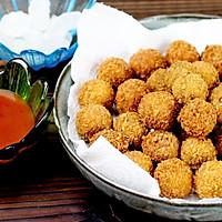 """茄汁紫薯球#""""宴""""遇灵山,拈花品素#的做法图解12"""