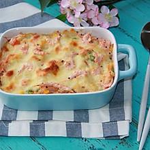#美味烤箱菜,就等你来做!#磷虾芝士焗饭