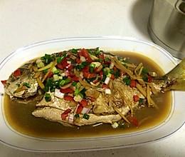 家常菜—红烧金鲳鱼的做法