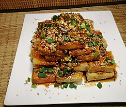 爆浆豆腐的做法