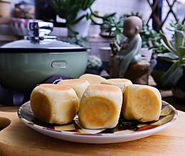 #下饭红烧菜#外酥里软拉丝芝麻仙豆糕的做法