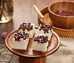 红豆椰汁糕,冰棒吃腻了就换个花样吧!的做法
