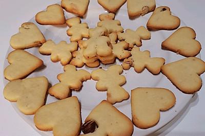 超级简单又超级好吃的健康香酥饼干