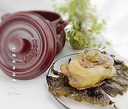 坤博砂锅荷香盐焗鸡的做法