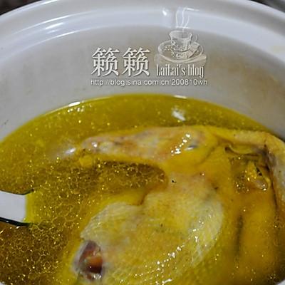清炖黄油土鸡