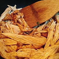 小炒腐竹——橄露Gallo经典特级初榨橄榄油试用的做法图解4