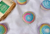 #奈特兰草饲营养美味#美腻的彩虹蛋黄酥的做法