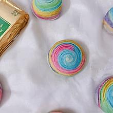 #奈特兰草饲营养美味#美腻的彩虹蛋黄酥