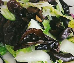 东北黑白菜的做法