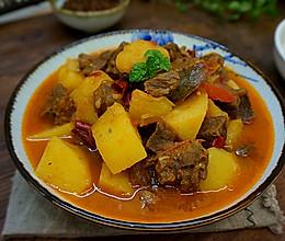 番茄牛肉炖土豆-----给你一个不一样的冬天的做法