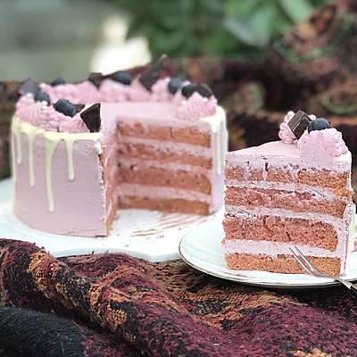 树莓红丝绒乳酪蛋糕