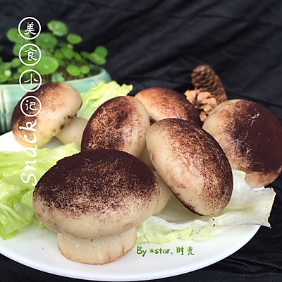 儿童辅食~蘑菇包