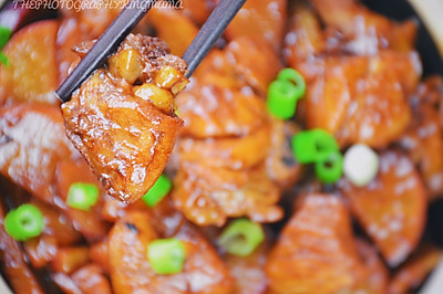 萝卜炖鸡块