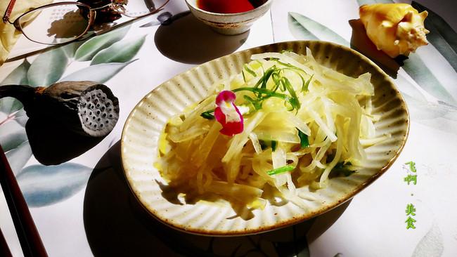 葱油海蜇萝卜丝#秋天怎么吃#的做法