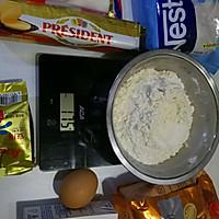 咸蛋黄肉松小面包的做法图解1