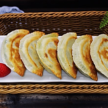 百吃不厌的韭菜盒子#网红美食我来做#