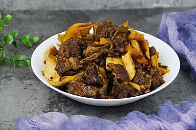 热辣暖胃——笋子红烧牛肉