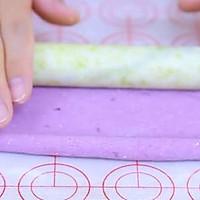 双色紫薯馒头  宝宝辅食食谱的做法图解14