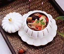 #带着美食去踏青#姬松茸板栗炖鸡汤的做法