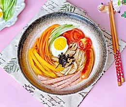 有料有颜值的荞麦凉面❣️酸甜低脂附灵魂汤汁的做法
