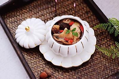 #带着美食去踏青#姬松茸板栗炖鸡汤