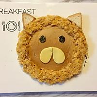 儿童早餐—狮子吐司的做法图解5