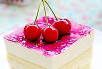 为炎热的夏季带来一抹清凉——樱桃芒果慕斯的做法