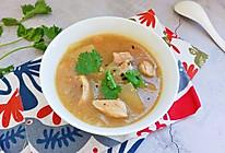 #橄榄中国味 感恩添美味#冬瓜鸡腿味噌汤的做法