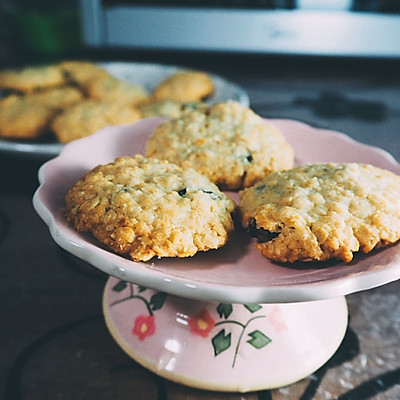 健康零食——葡萄干燕麦饼干