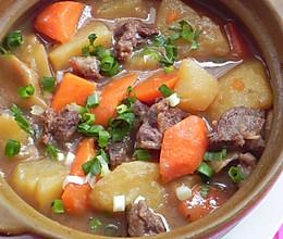胡萝卜土豆炖牛腩的做法