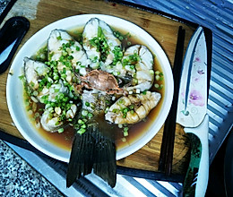 清蒸鲜嫩石斑鱼的做法