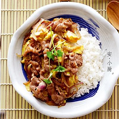 日式肥牛盖饭