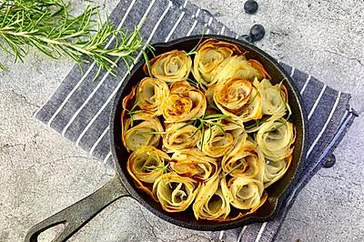 #美食新势力#土豆焗培根,好吃的想哭
