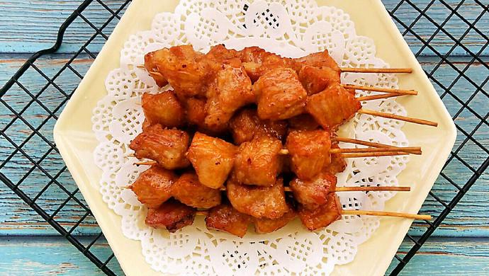 蜂蜜烤肉串