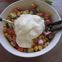 吃着没负担的[酸奶玉米沙拉]的做法图解5