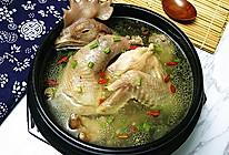 原味老母鸡汤#月子餐吃出第二春#的做法