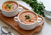 西红柿疙瘩汤#松下多面美味#的做法