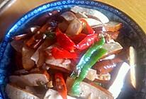 青椒炒豆干的做法
