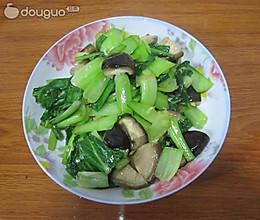 香菇油菜的做法