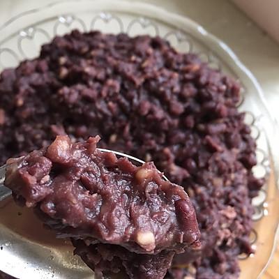 无油版健康简单粗犷红豆沙