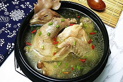 原味老母鸡汤#月子餐吃出第二春#