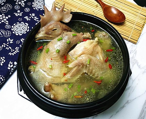 原味老母鸡汤的做法