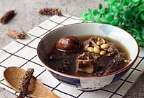 药膳养生 祛斑消痘 夏枯草黄豆猪骨汤的做法