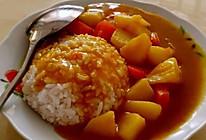 牛肉咖喱土豆饭的做法