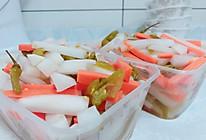 萝卜泡菜的做法