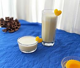 姜汁黄桃奶昔(保健又美味的女神饮品)的做法